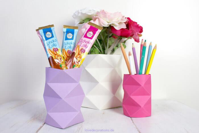 Origami Vaas