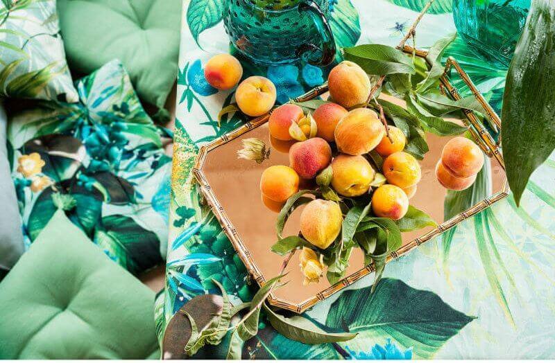 tafelkleed H&M botanisch interieur