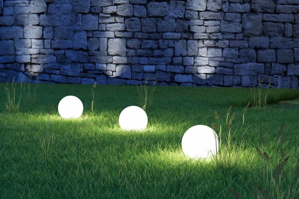 Mooie tuinverlichting
