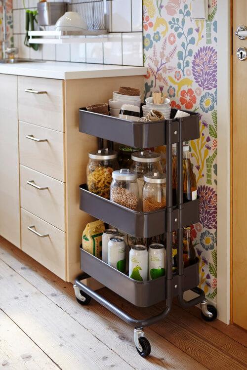 trolley ikea keuken