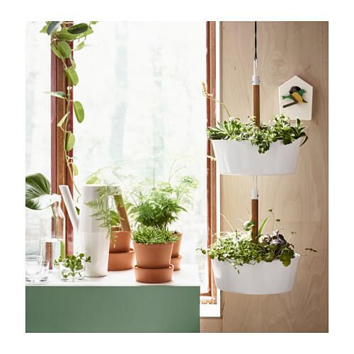 plantenhanger ikea botanisch interieur