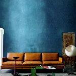 Gewaagde gekleurde muren in jouw woonkamer