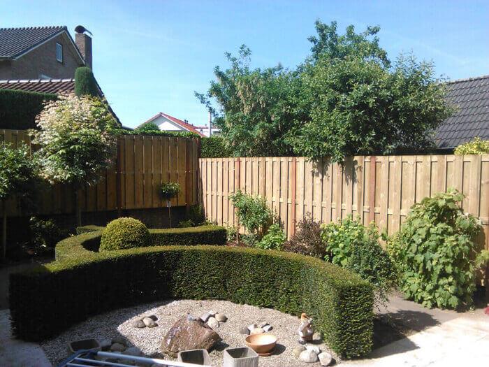 Aanleg van duurzame tuin