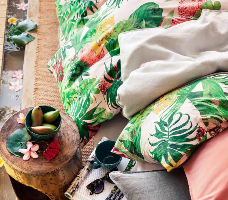 Dekbed H&M botanisch
