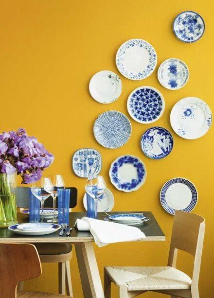 Gewaagde gekleurde muren in jouw woonkamer | Ik woon fijn