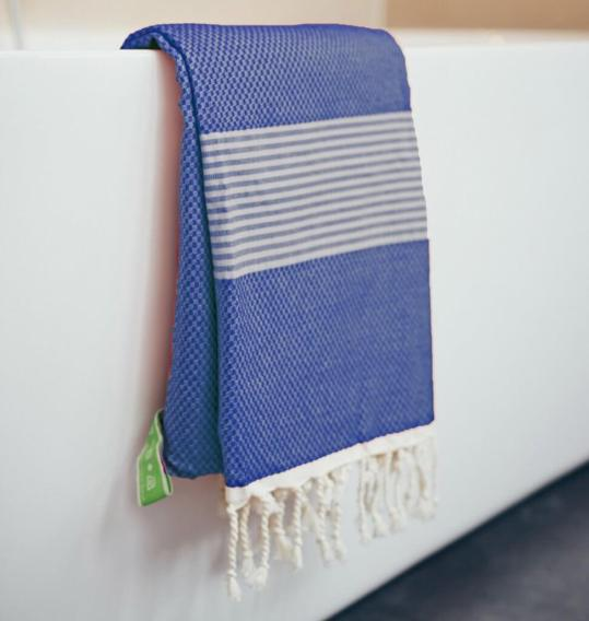 Happy-Towels-over-badrand-nachtblauw