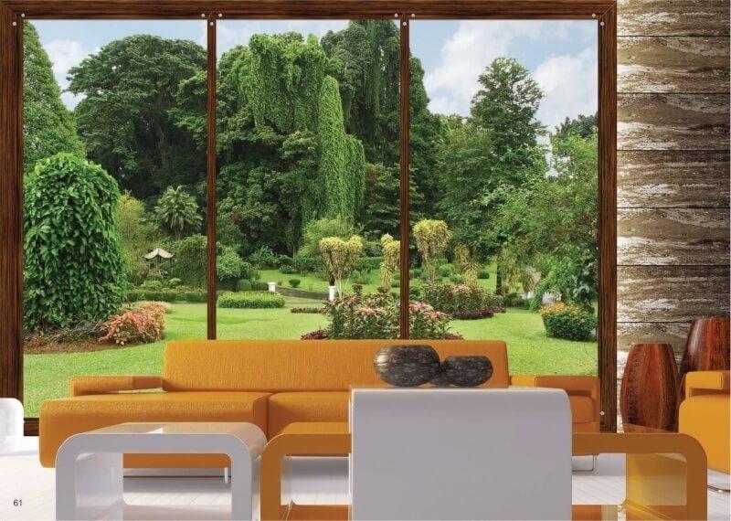 Fotobehang prachtige tuin