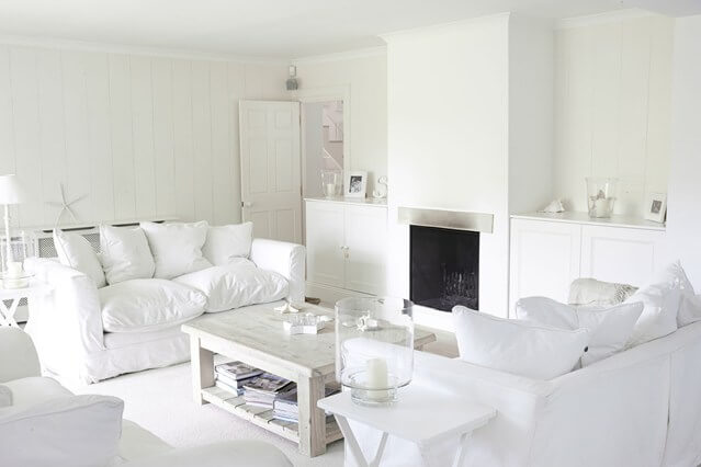 witte woonkamer landelijk