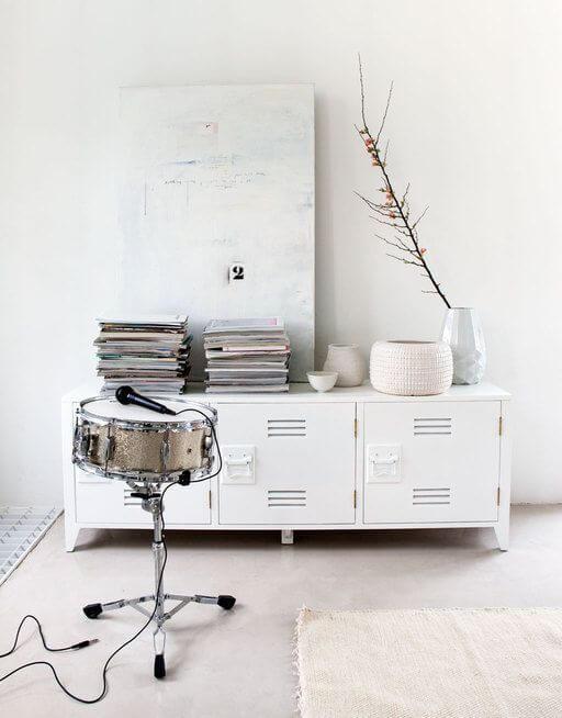 witte woonkamer