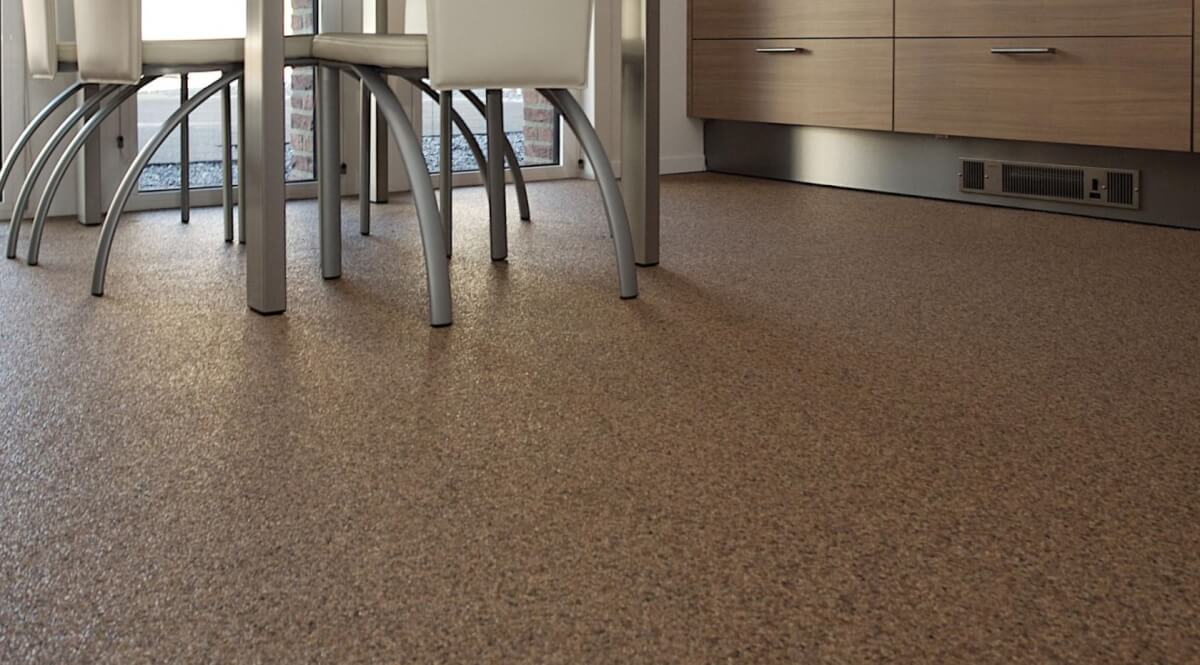 Laminaat gietvloer perfect betonlook gietvloer with laminaat