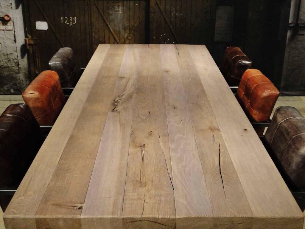 houten tafel robuuste