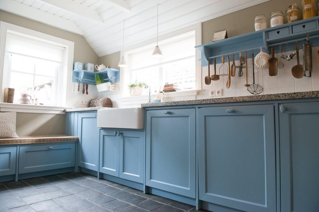 Feeling blue niet nodig met deze blauwe keukens ik woon fijn
