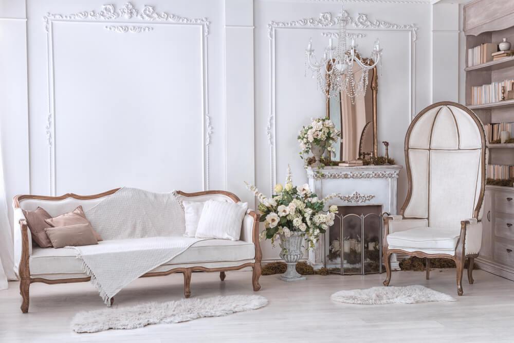 Klassiek Wit Interieur : Hoe krijg je een klassieke sfeer in huis ik woon fijn