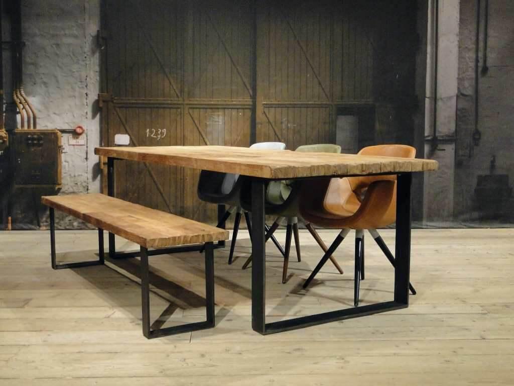 Prachtige houten meubelen ik woon fijn