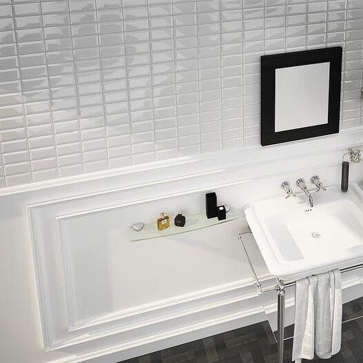 Inspiratie voor de metrotegel in je badkamer | Ik woon fijn