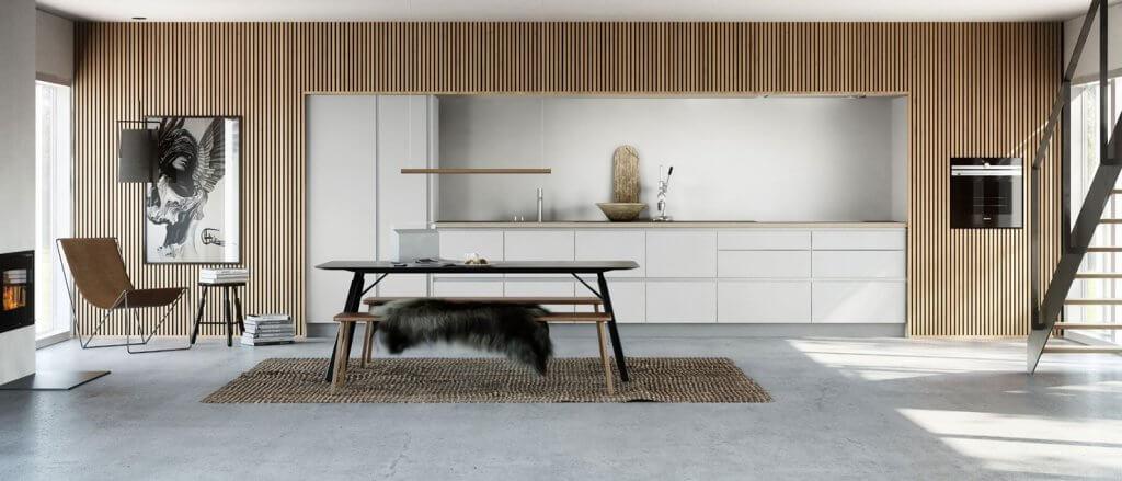 Scandinavische keuken design