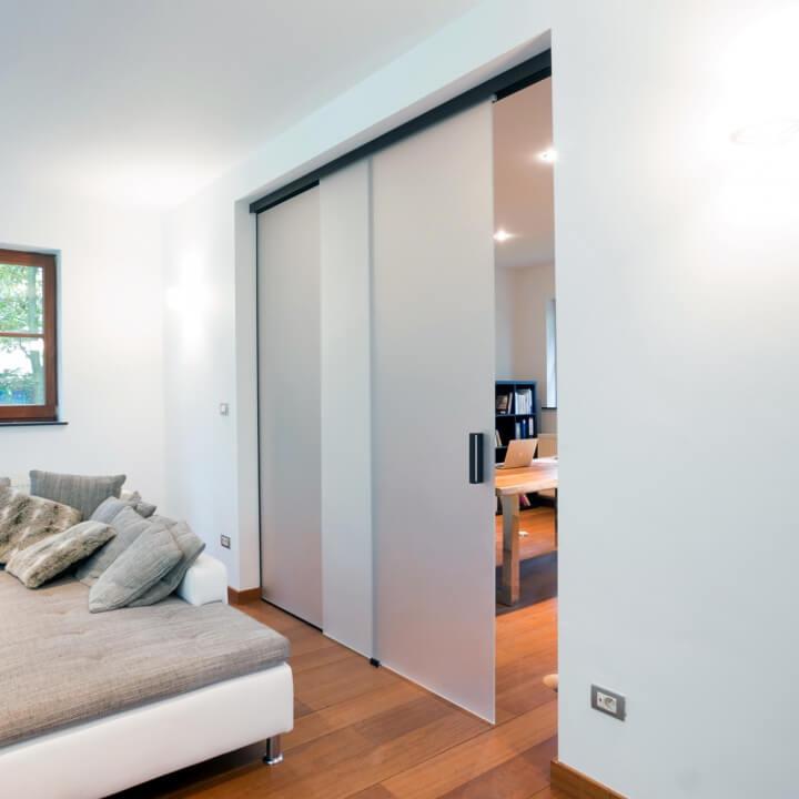 Zeer De glazen schuifdeur voor een luxueuze uitstraling in huis | Ik  VA21