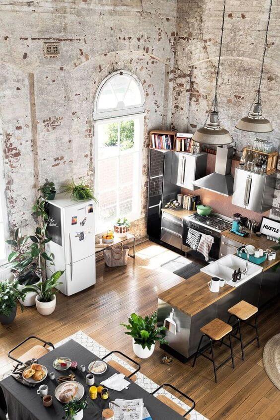Vaak Inspiratie: De stoere bakstenen muur in je interieur | Ik woon fijn &LZ51