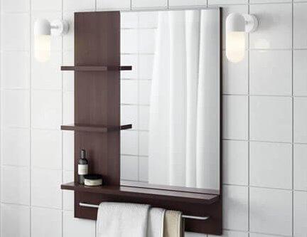 spiegel kleine badkamer ikea