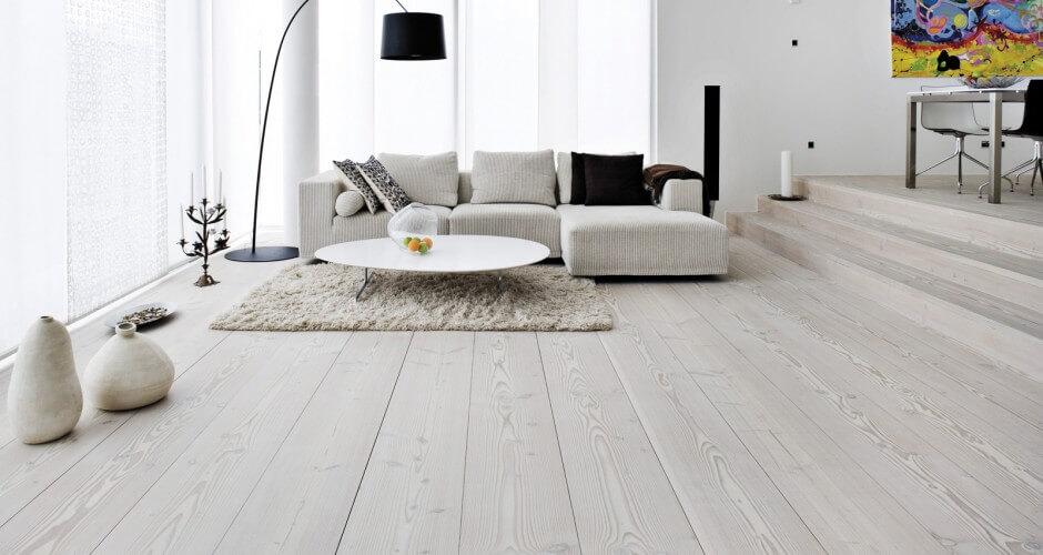 licht houten vloer modern