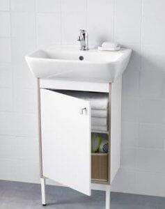 wastafelkast kleine badkamer ikea
