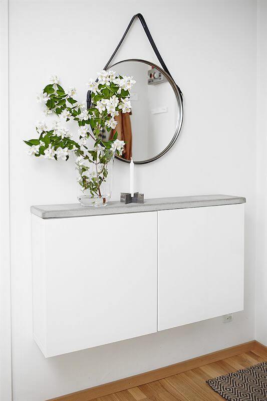 Zwevende Wandkast Ikea.Diy Een Oogverblindend Dressoir Maken Van Een Simpel Ikea Besta