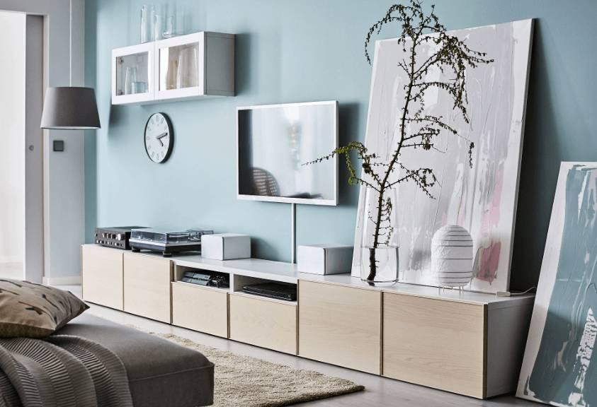 Ikea Besta Tv Meubel Kast.Diy Een Oogverblindend Dressoir Maken Van Een Simpel Ikea Besta