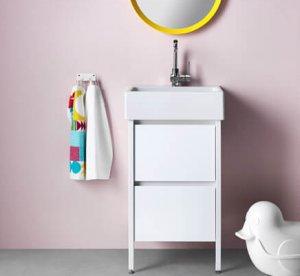 wastafel kleine badkamer ikea