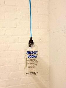 hanglamp gerecycled glas