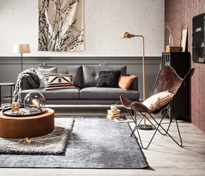 Verassende combinatie grijs en bruin in je interieur ik for Bruin grijs interieur
