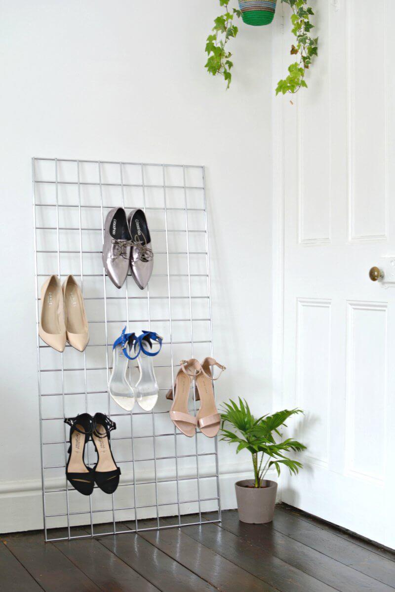 schoenen showen interieur