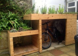 kliko ombouw tuintje dak