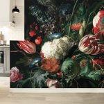 Helemaal on trend met 'Gouden Eeuw' herfstbloemen op jouw muur