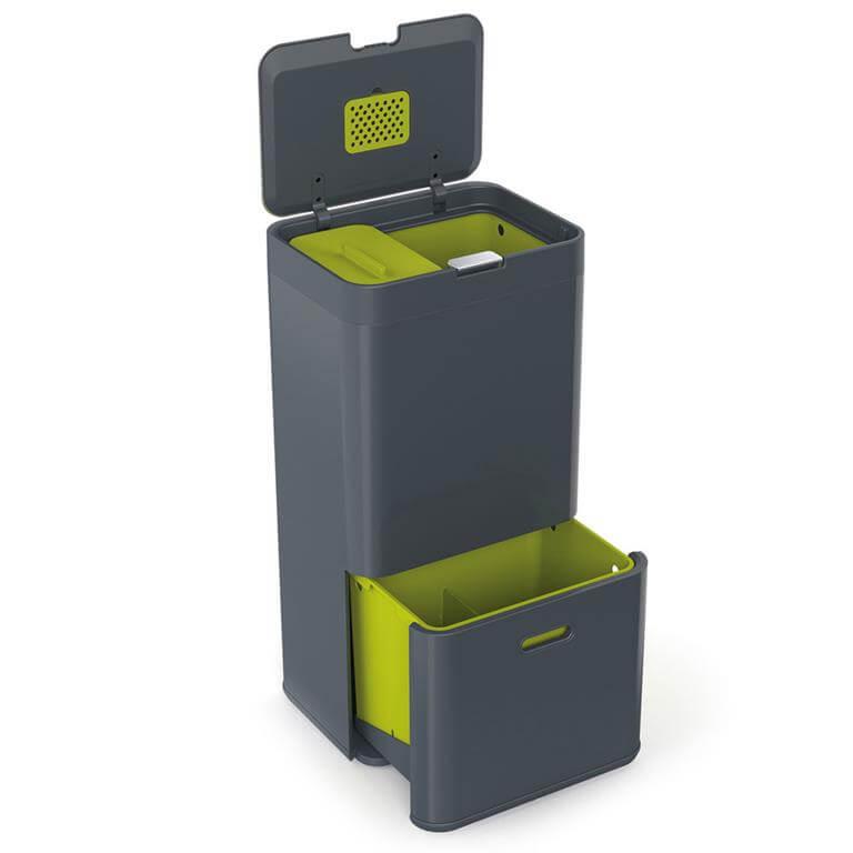 handige duo afvalbak