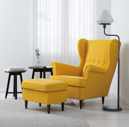 7x oorfauteuils die jouw huis gelijk extra gezellig maken ik woon fijn. Black Bedroom Furniture Sets. Home Design Ideas