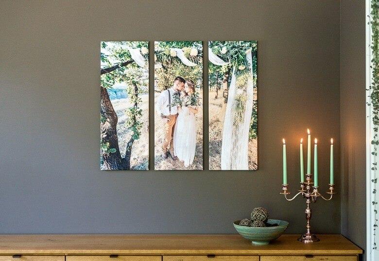 wanddecoratie foto