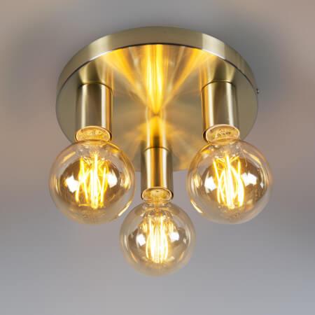 budget plafondlamp goud
