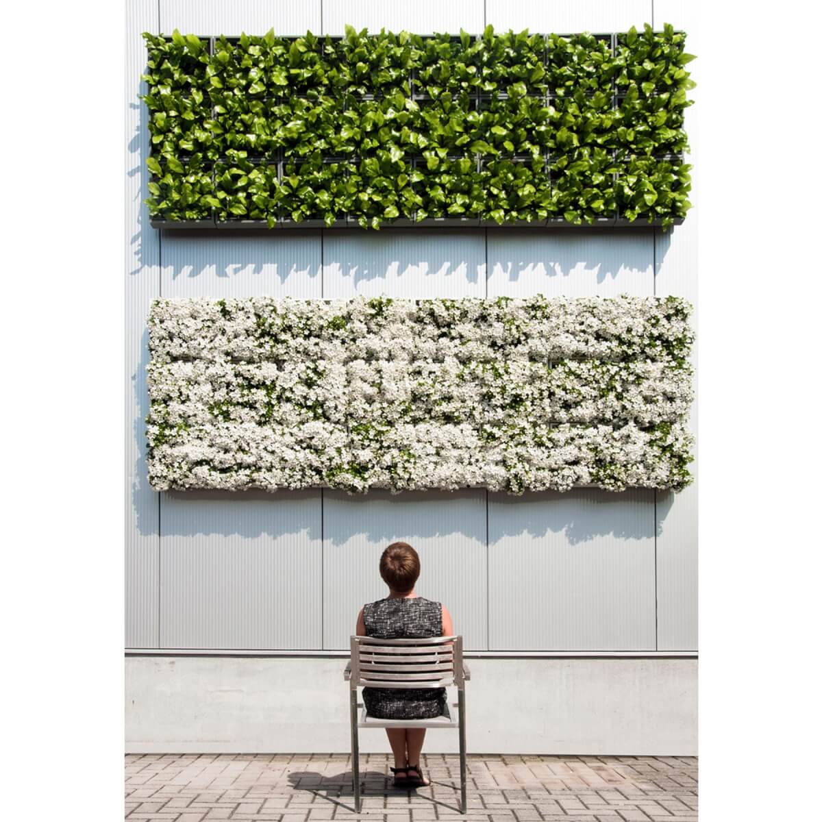 verticale plantenbak