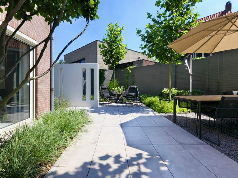 Tuin Met Tegels : Keramische tegels bardoel tuin en bestratingspecialist