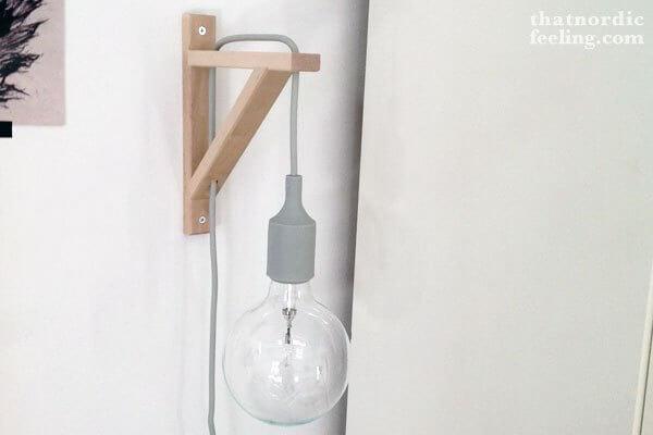 snoeren lamp boekensteun