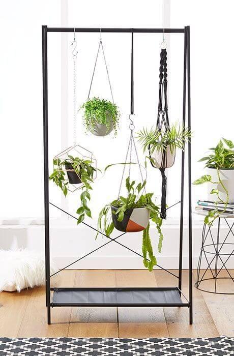planten kledingrek