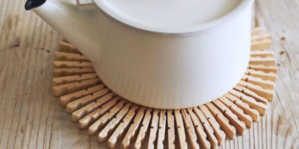 DIY onderzetter wasknijpers