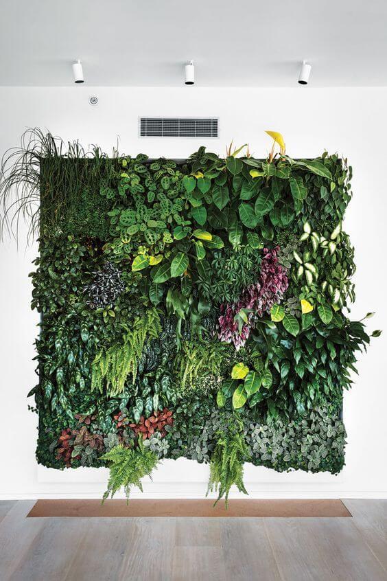 verticale planten muur