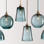 Trend: Lampen van gekleurd glas