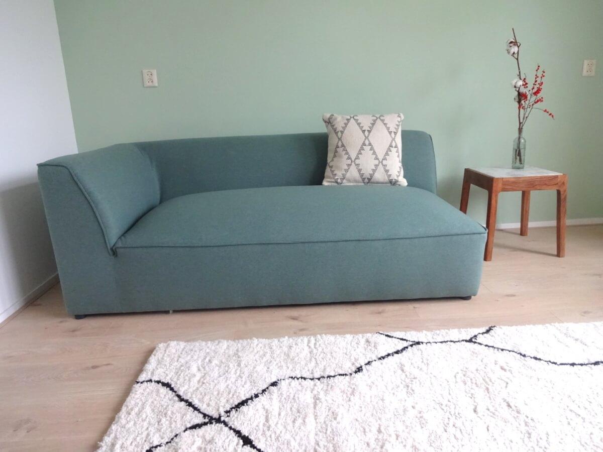 retro look combinatie moderne meubelen