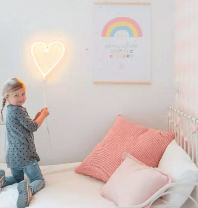 neon lamp kinderkamer