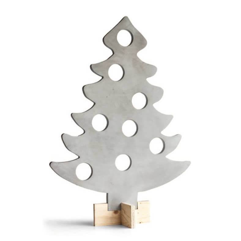 betonnen kerstboom