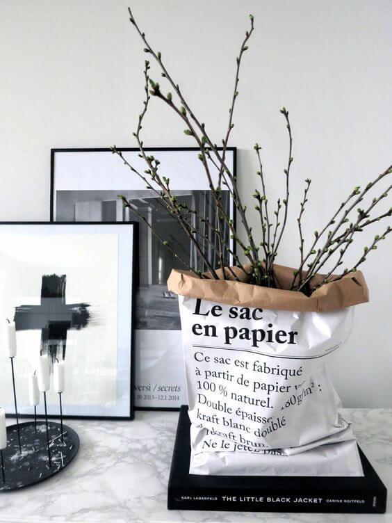 paper bag plant