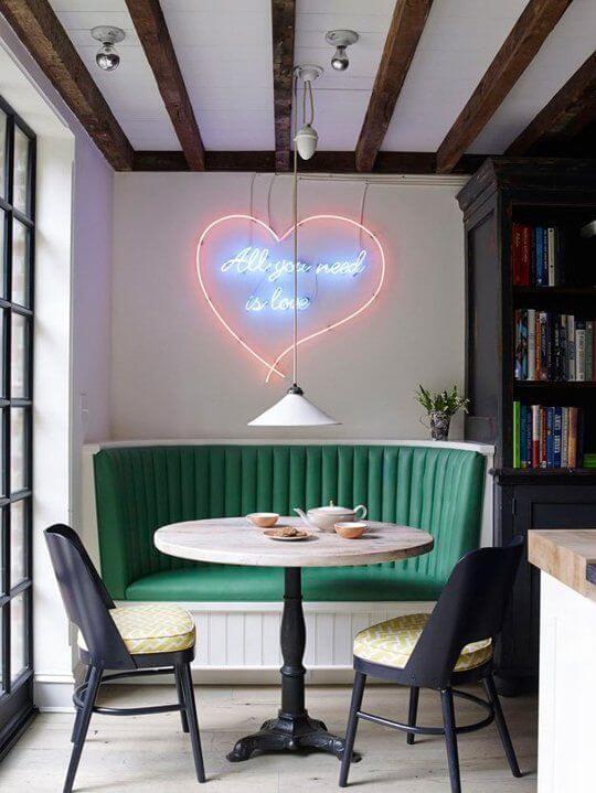 neon lamp hart