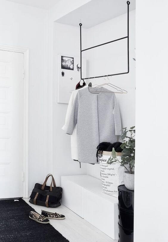 minimalistische kapstok